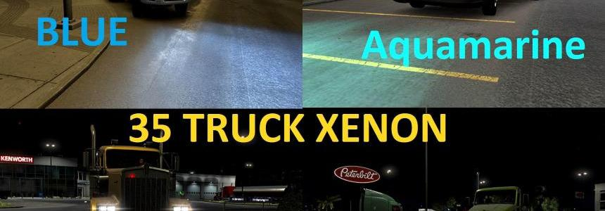 ATS 36 XENON COLOR PACK v1.0