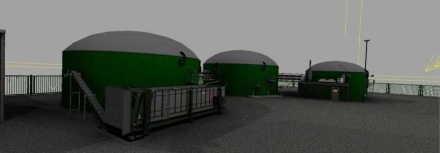Biogas plant v1.0