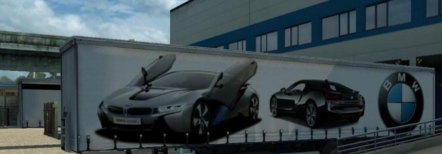BMW i8 Trailer 1.24