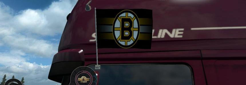 Boston Bruins Flags 1.24