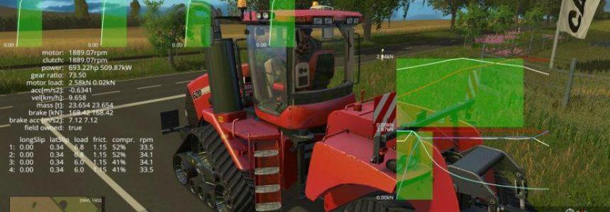 CASE QUADTRAC 620 REAL ENGINE v1.0