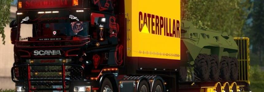 Caterpaillar Tank Trailer By Cheetah Modders Team