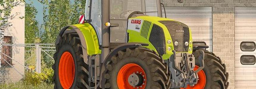 Claas 850 v2 no PloughSpec