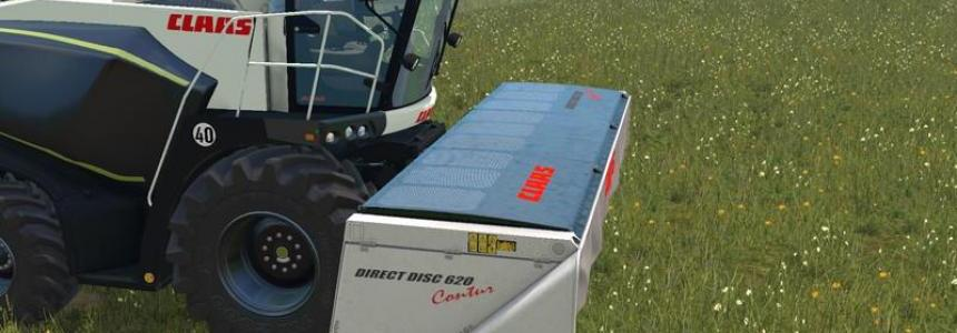 Claas Direct Disc 620 Black Edition TEXTURE v1.0