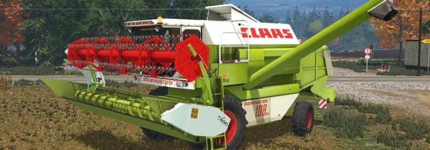 Claas Dominator 108SL v1.0 non Advanced