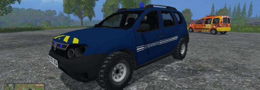 Dacia Duster Gendarmerie Nationale v1.0