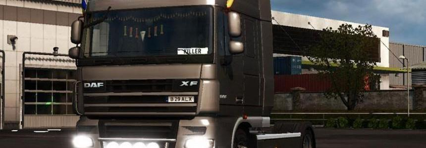 DAF XF 105 Accessories