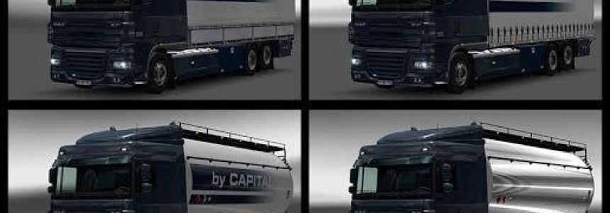 Daf XF 50k Tandem – By Capital v1.5.1