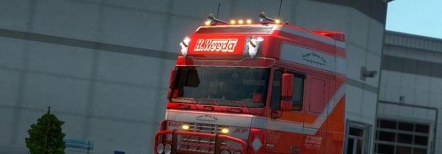 DAF XF 95 H.Weeda