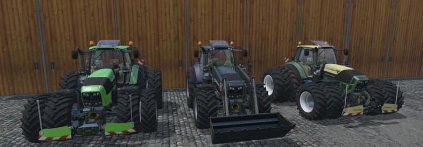 DEUTZ FAHR 7250 TTN WARRIOR v9.0