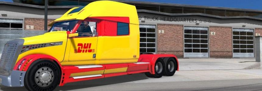 DHL skin for Walmart 3 M.S.M Concept 2020