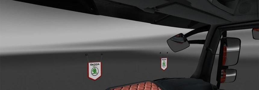 DLC Cabin Accessory Addon Pennant Skoda VIRS