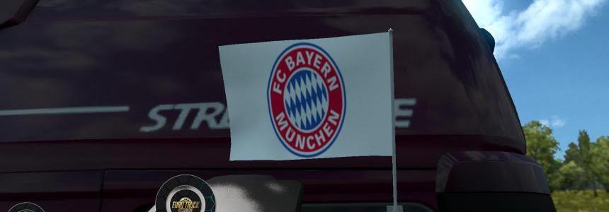FC Bayern Munchen Flags 1.24