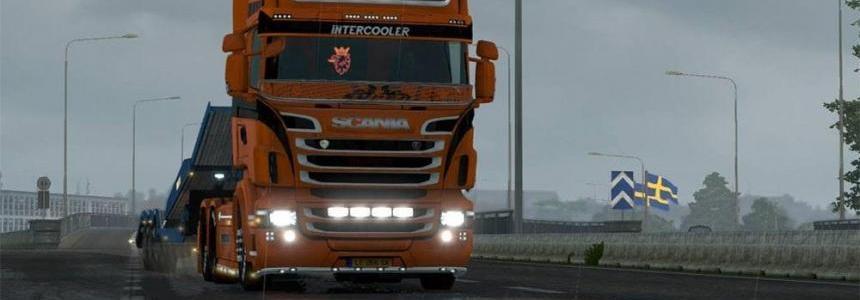 Force Lightning Skin for Scania RJL
