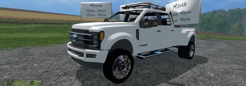Ford F450 Super Duty 2017 Platinum Edition