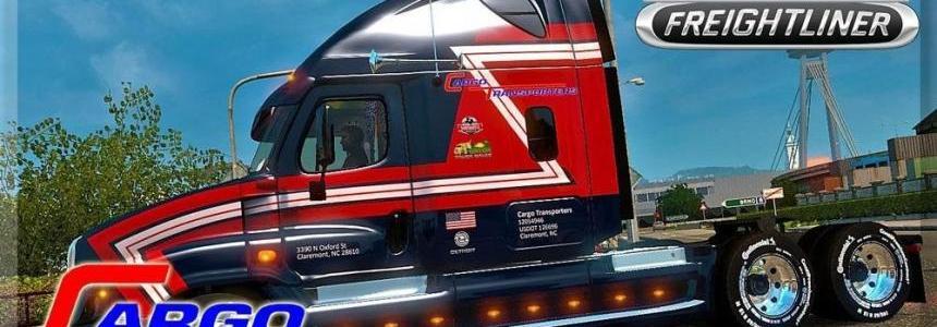 Freightliner Cascadia Cargo Transporters Skin