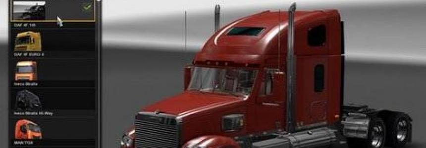 Freightliner Coronado Modernization + Supplement