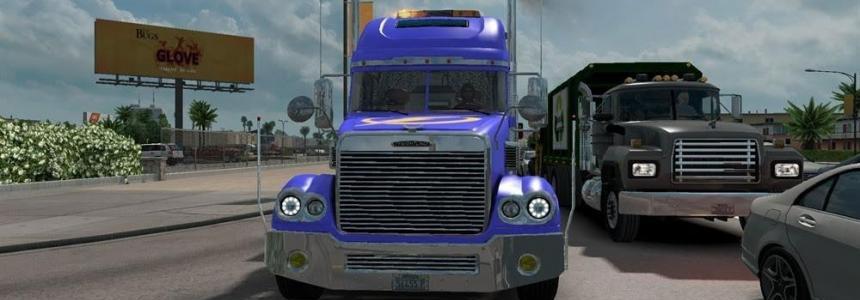 Freightliner Coronado v1.3 for 1.24.x