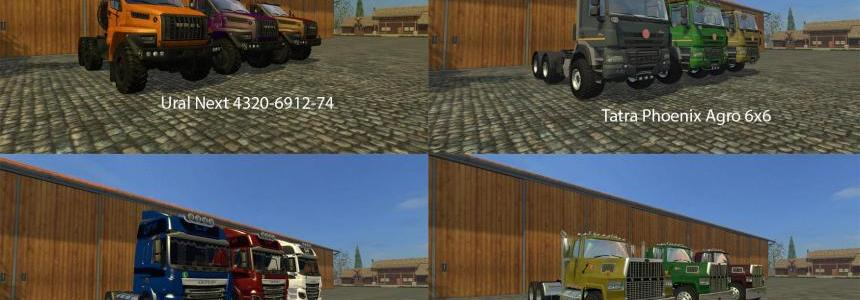 FS15 Big Mods Pack V20 Trucks Pack V1