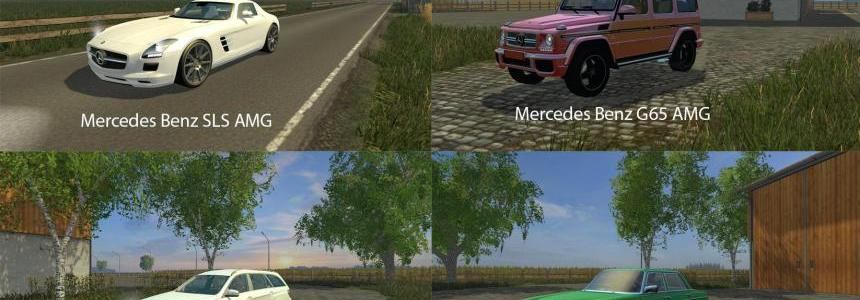 FS15 Big Mods Pack V21 Mercedes Benz Pack V1