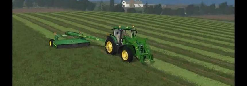 JD 7r Loader with duals V1