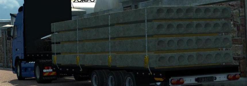 Krone platform trailer 1.24