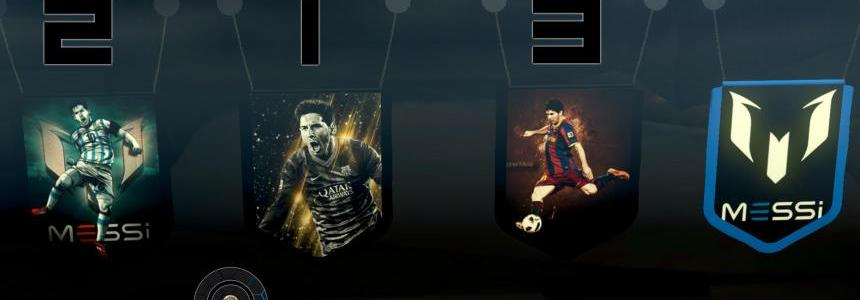 Leo Messi Pennants Pack