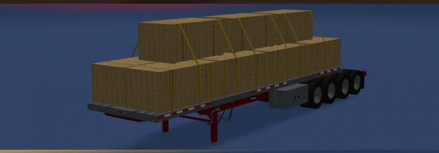 Manac 4 axles ETS2 v1.0