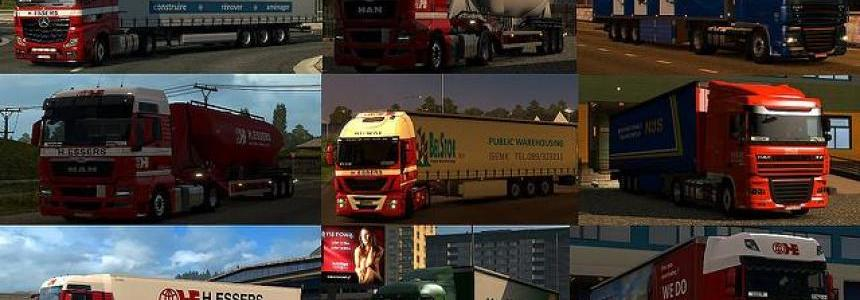 Mega assembly of various high quality trailers for 1.24
