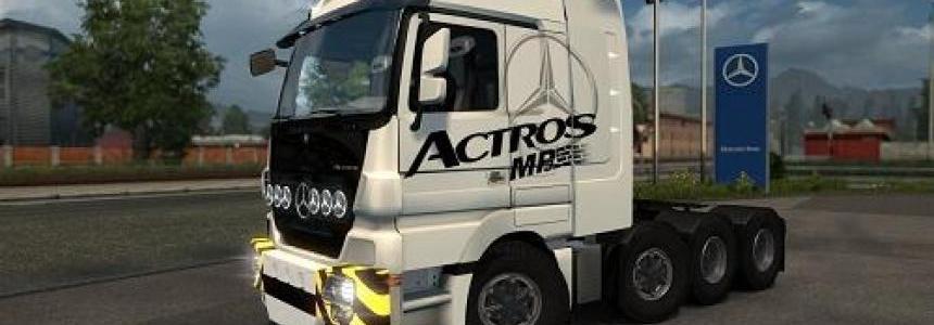 Mercedes Actros 4160 SLT 8x4 Titan v2