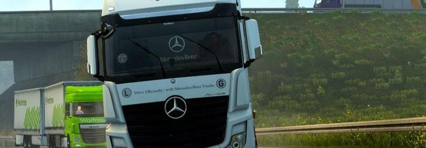 Mercedes Benz Actros 2014i Sound HD