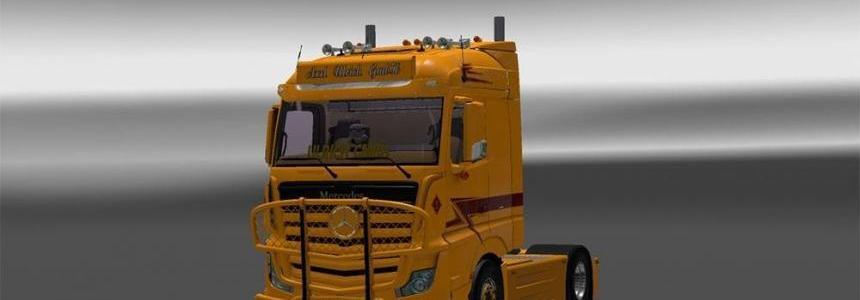 Mercedes Mega mod + Cabin DLC (Mega Mod)