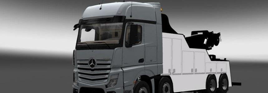 Mercredes New Actros Wrecker