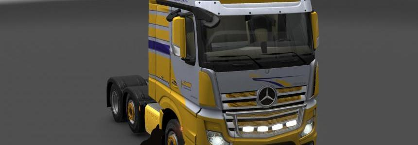 Mercedes Benz New Actros Havecon skin 1.24