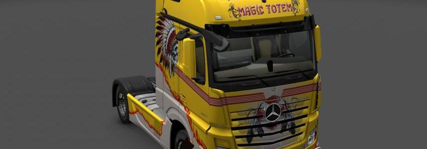 Mercedes Benz New Actros Indian Stile skin 1.24
