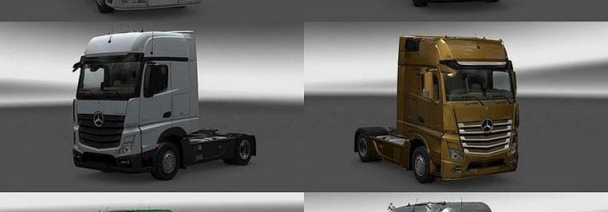 New Actros Plastic Parts and more v3.8.0