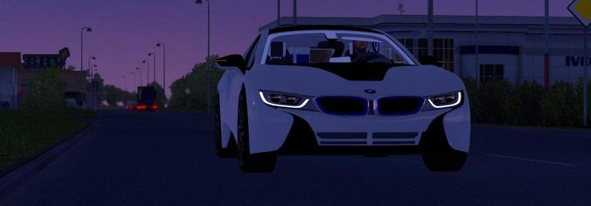 NEW BMW i8 1.24.X