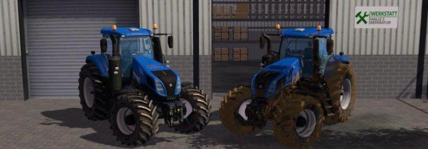 NEW HOLLAND T8 320 WASHABLE v1.0