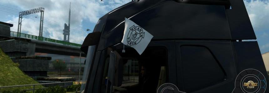 Original Scania Vabis Flags 1.24