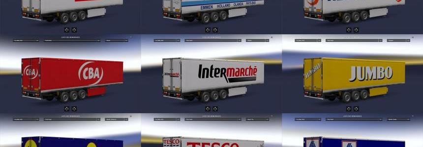 Pack trailer fridge custom 1.24