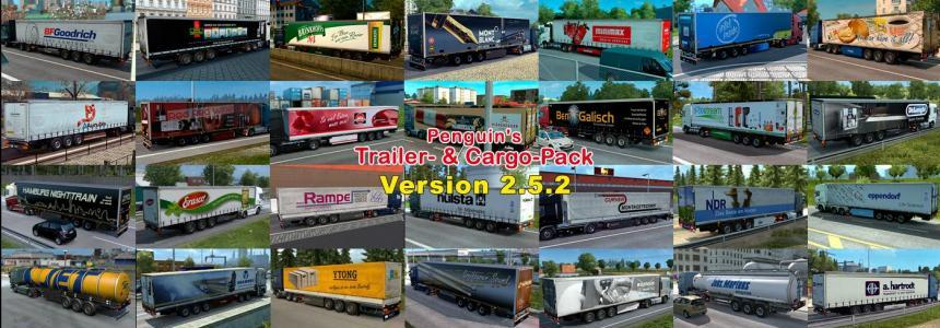 Penguins Trailer and CargoPack 2.5.2 for 1.23 & 1.24