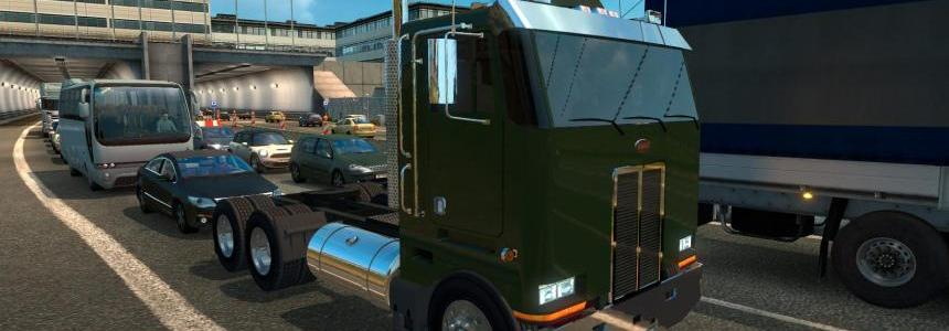 Peterbilt 362 in Traffic for ETS2