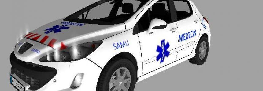 Peugeot 308 Medecin SAMU v1.0