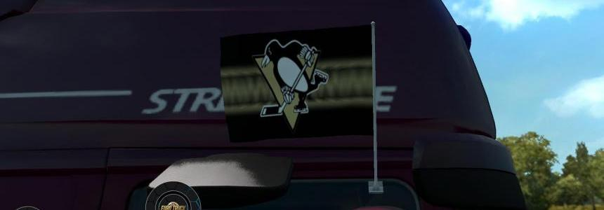 Pittsburgh Penguins Flags 1.24