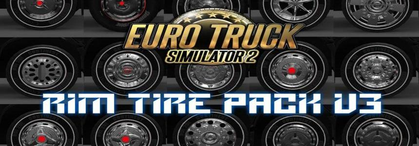 RIM & TIRE PACK v3 for ets2 1.24