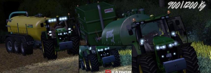 Saphir Frontweights 900 + 1200 Kg v1.0