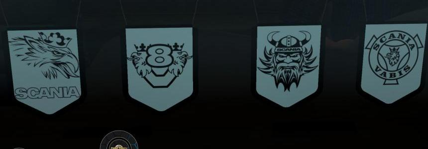 Scania Pennants Pack