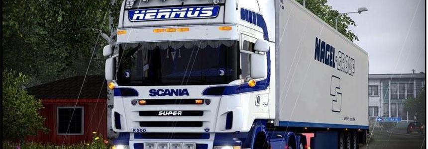 Scania R500 V8 HERMUS