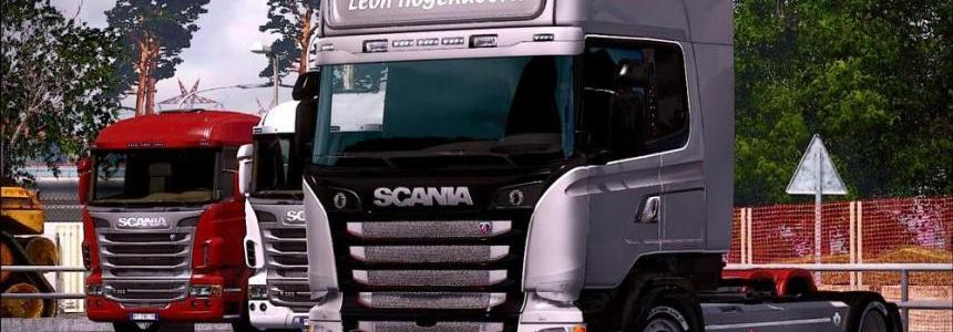 Scania RJL Low Deck