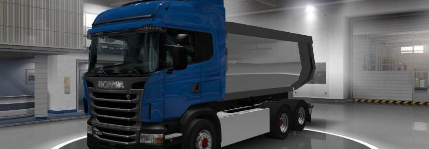 Scania RS - Asphalt Tandem Addon v1.0